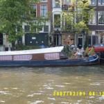 Giardino sulla barca